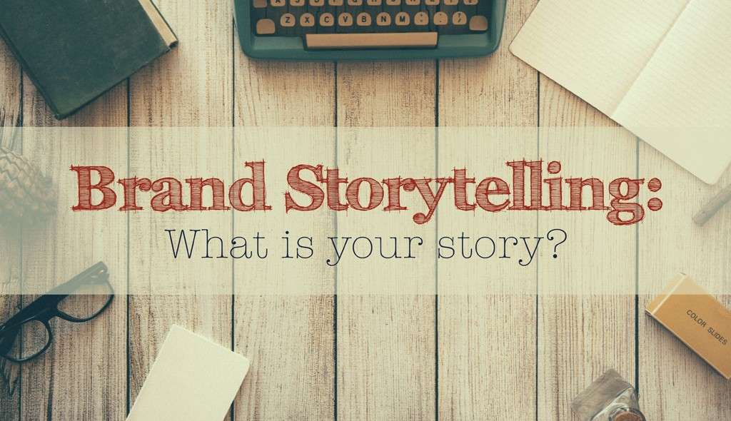 Data and Brand Story Telling - web design trends 2018