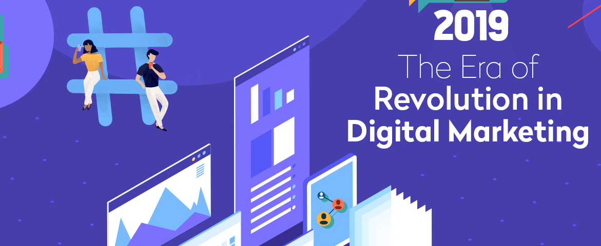 Era of Revolution in Digital Marketing [Infographic]