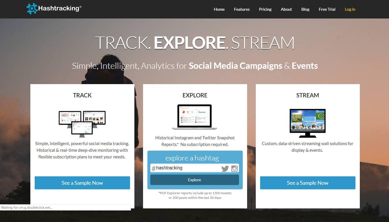 hashtracking-Twitter Hashtag Tracking Tools