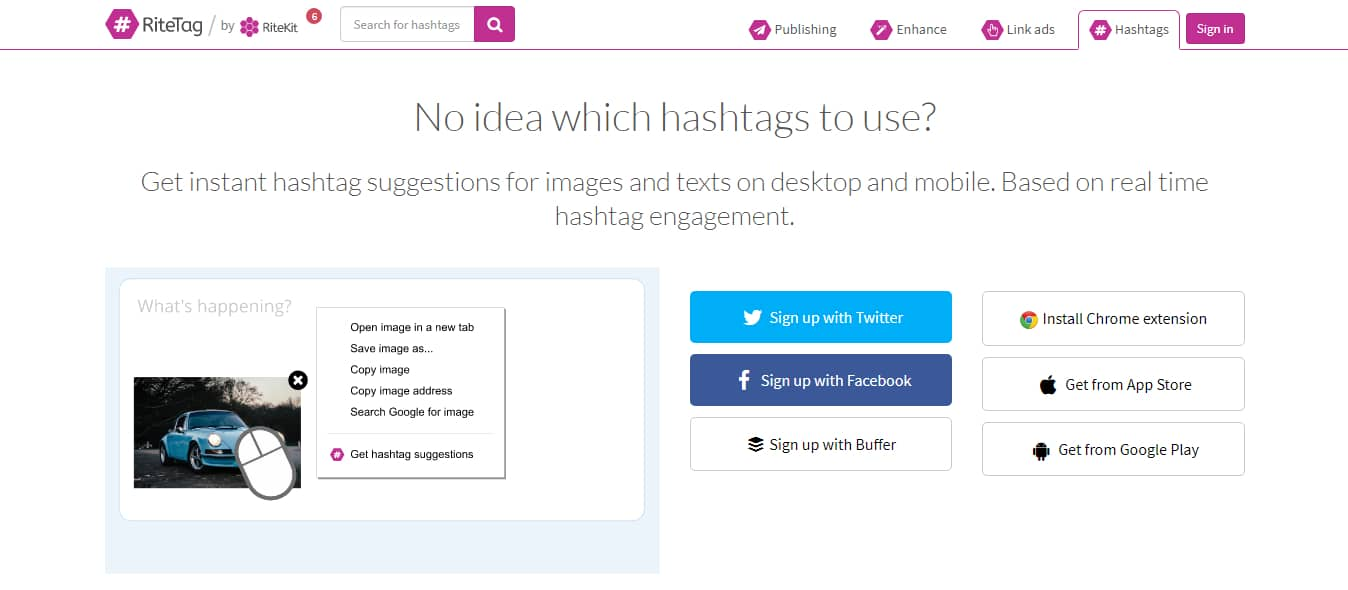 ritetag - Twitter Hashtag Tracking Tools